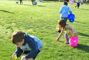 easter egg hunts!