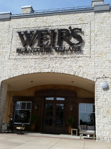 Weir's furniture store