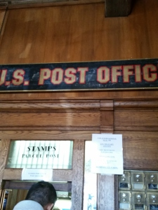 post office..in Weir's!